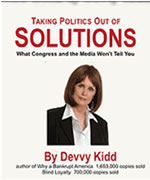 "WHY MY NEW BOOK, ""TAKING POLITICS OUT OF SOLUTIONS"" IS SO IMPORTANT"