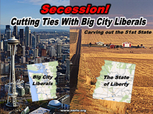 Big City Liberals Are Forcing Rural Counties To Secede